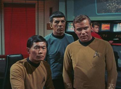 Star Trek remastert? Da schauen nicht nur Kirk & Co. skeptisch.